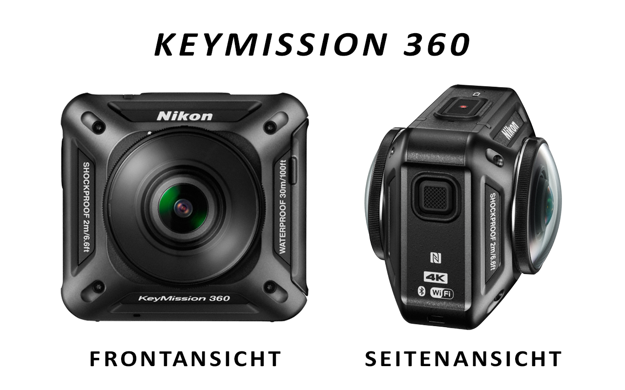 Die neue Nikon Action-Cam KeyMission 360